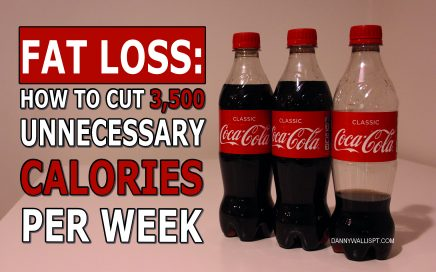 fat loss: how to cut 3,500 unnecessary calories per week