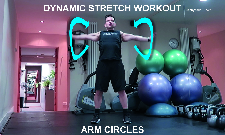 Dynamic Stretching: Chest Stretch