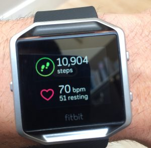 track steps: Healthy Habit