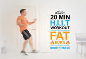 20 Minute HIIT Workout Video… Burn Fat & Boost Your Fitness